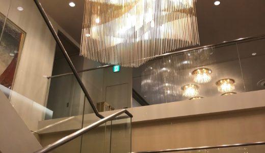 早朝の高松国際ホテル